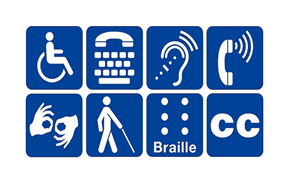 Icone disabilità